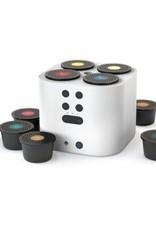 Moodo Smart Aroma Diffuser wit met batterij incl. 4 capsules