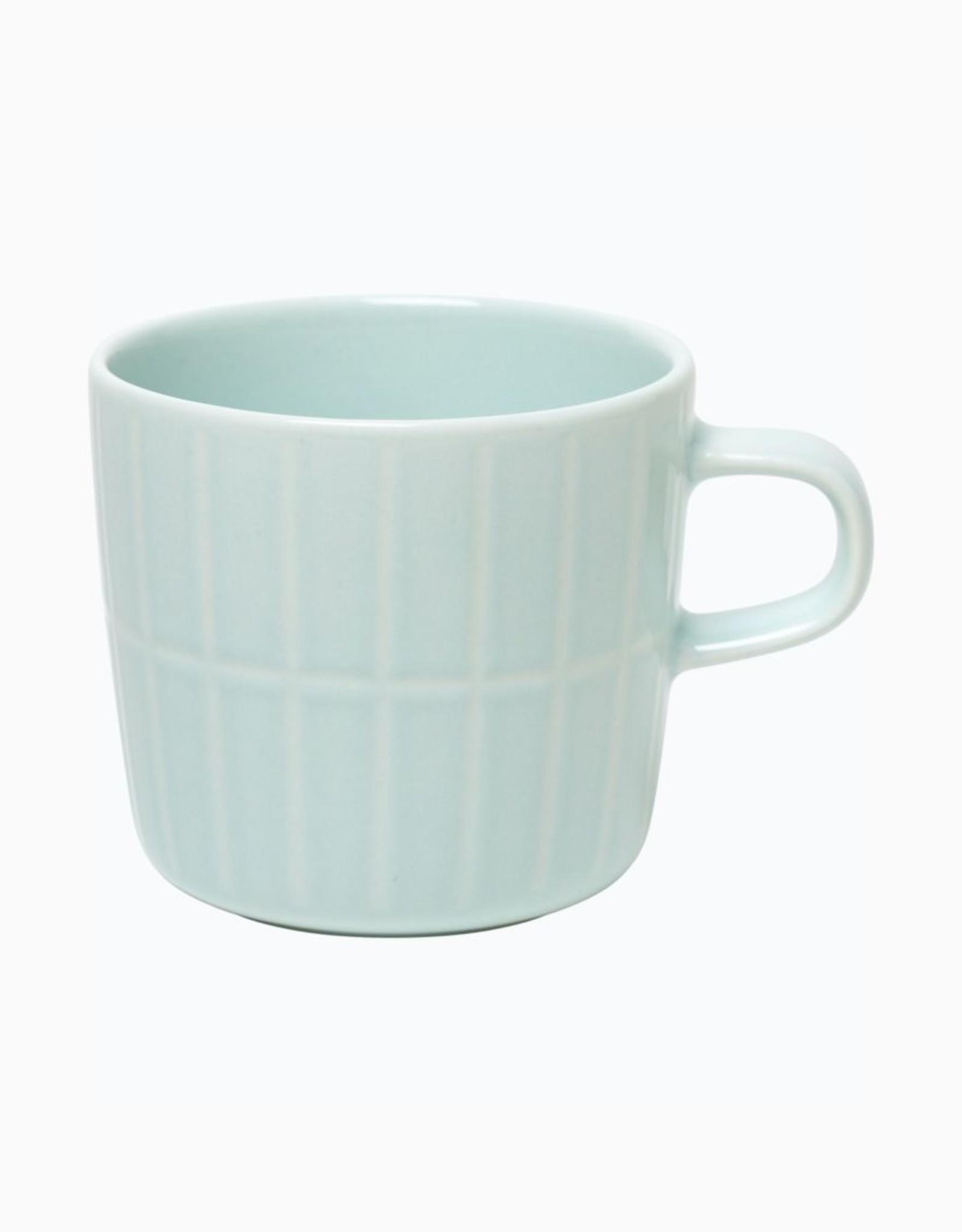 Marimekko Marimekko Tiilskivi Koffietas Mint Gestreept