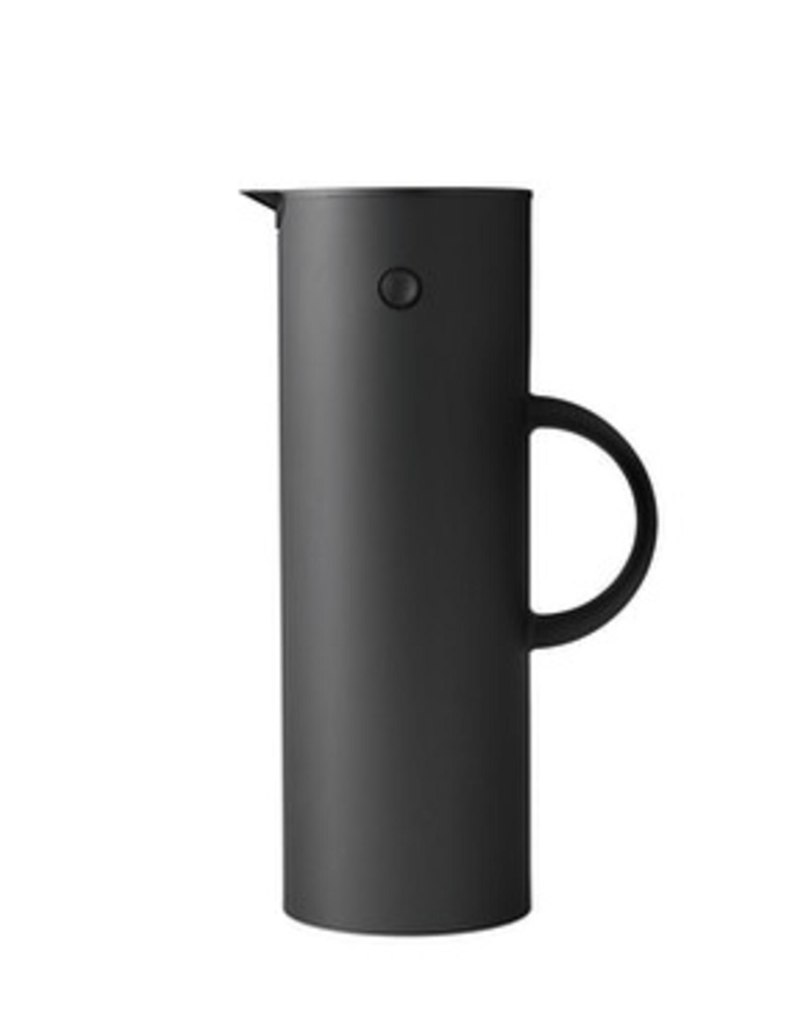 Stelton Thermoskan - 1 l - Soft Zwart