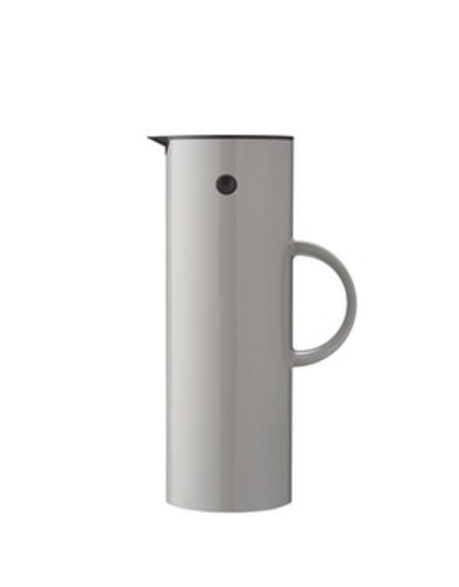 Stelton EM77 Thermoskan 1L. - licht grijs