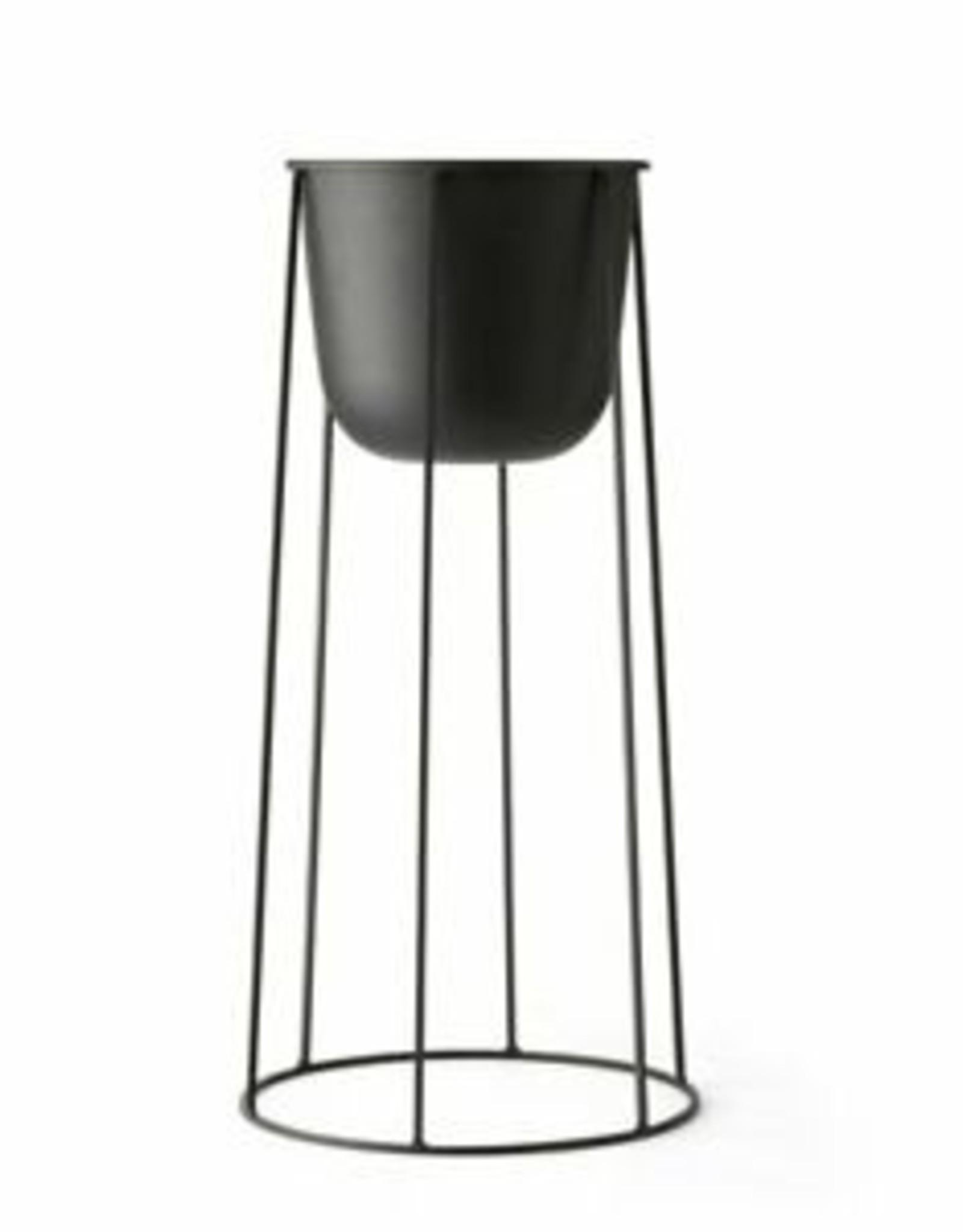Menu Wire Base Large 606 black excl pot