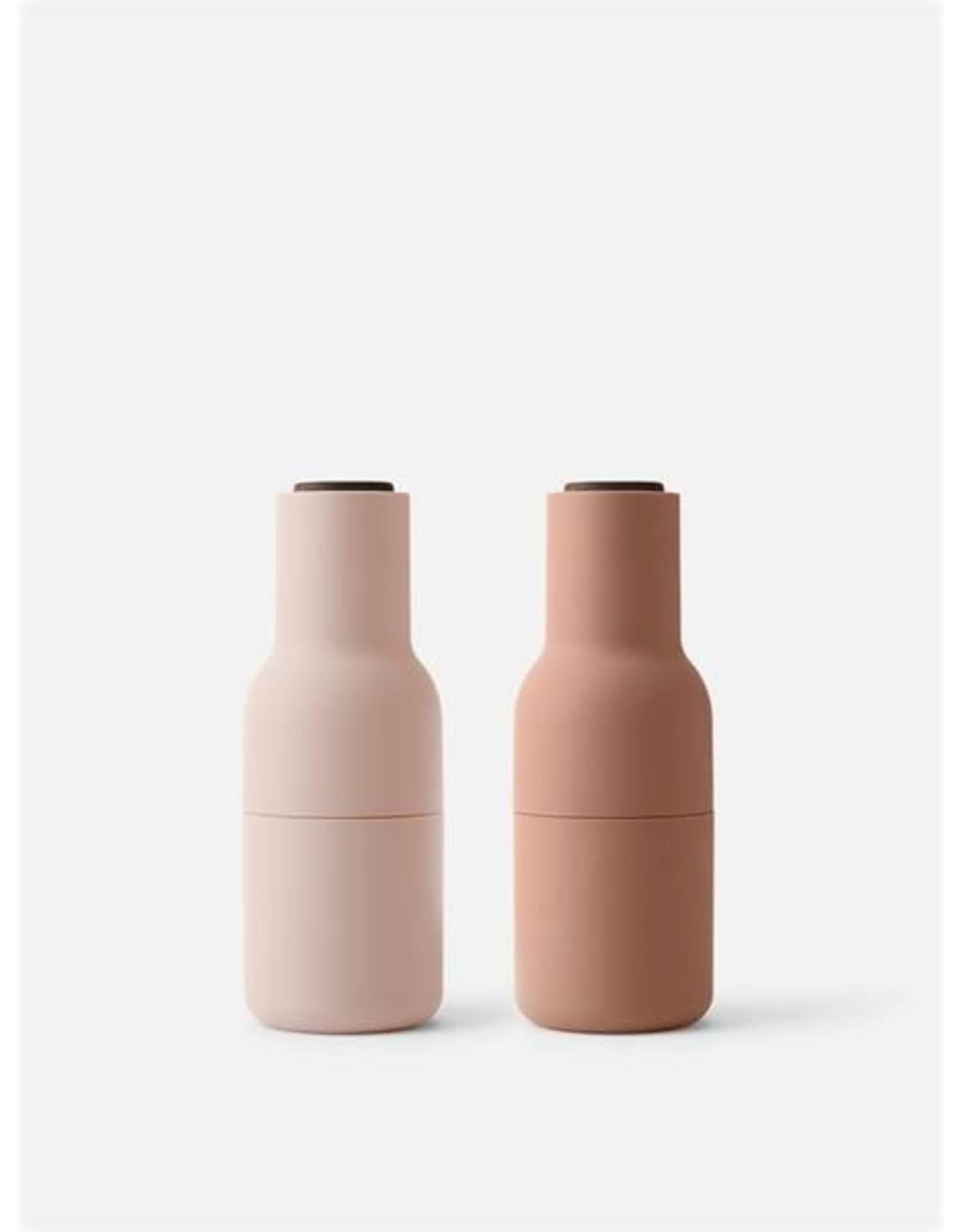Menu - Bottle Grinder Peper- en Zoutmolen nude-walnoot