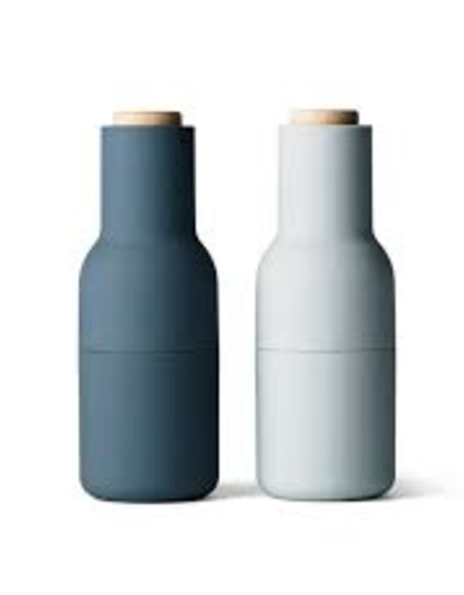 Menu - Bottle grinder - Peper-en Zoutmolen - Blues - Beuk - Set van 2