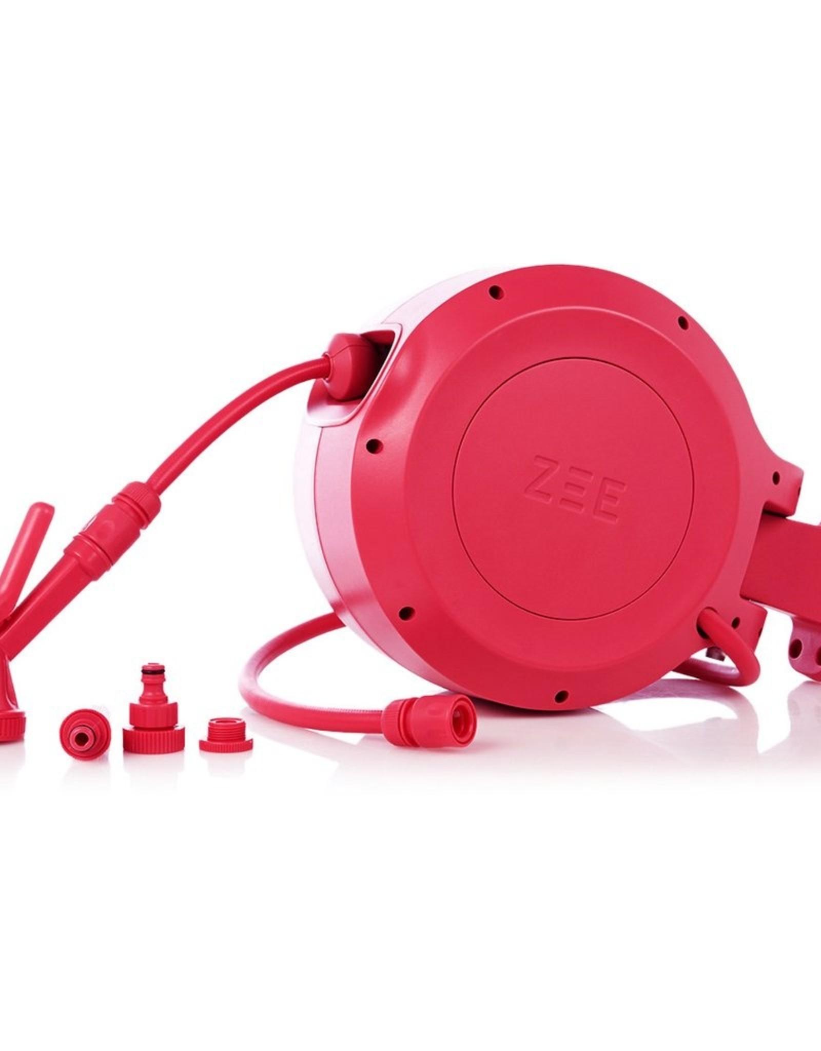 Zee Zee Mirtoon 10 Tuinslang Roze met Automatisch Oprolsysteem