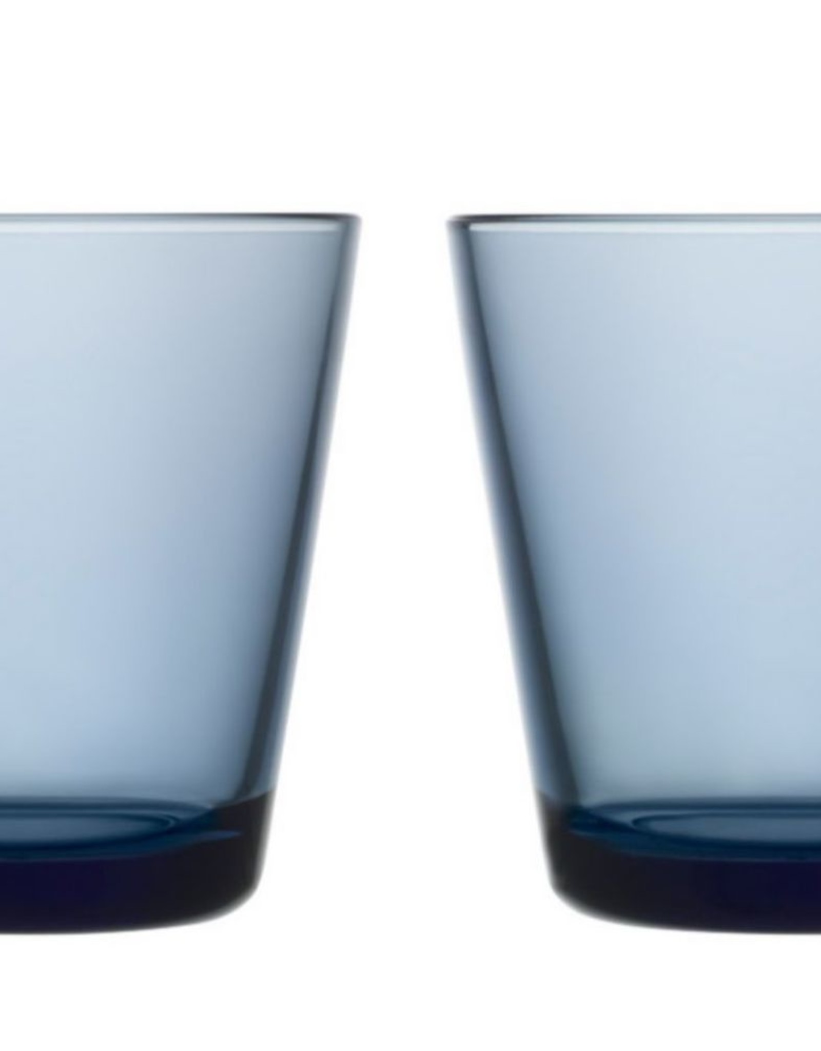 Iittala Iittala Kartio Glas - 21 cl - Regenblauw - 2 stuks