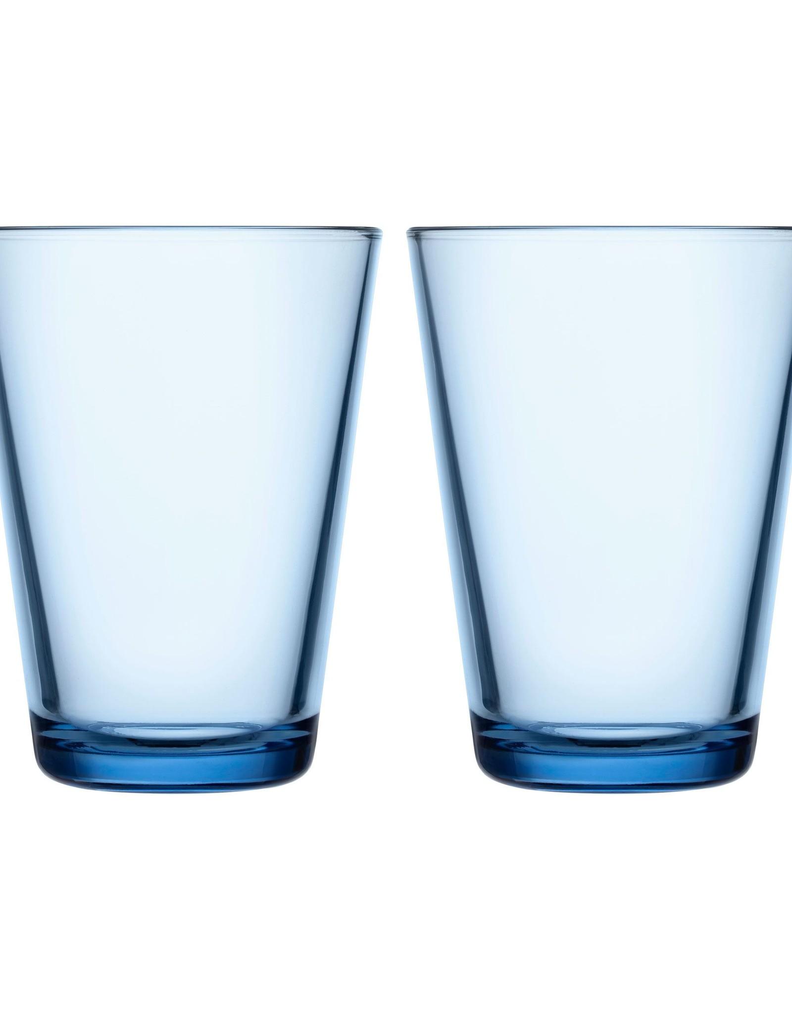 Iittala Iittala Kartio - Glas - 40 cl - Aqua - 2 stuks