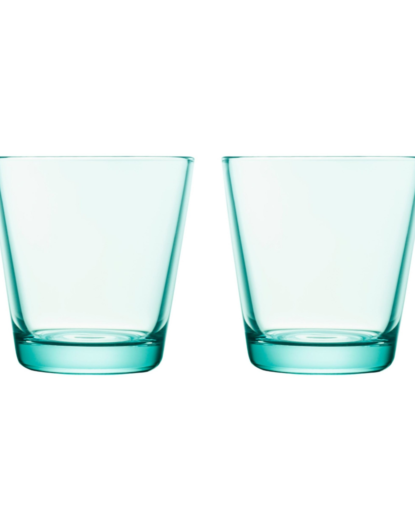 Iittala Iittala Kartio Glas - 21 cl - Watergroen - 2 stuks