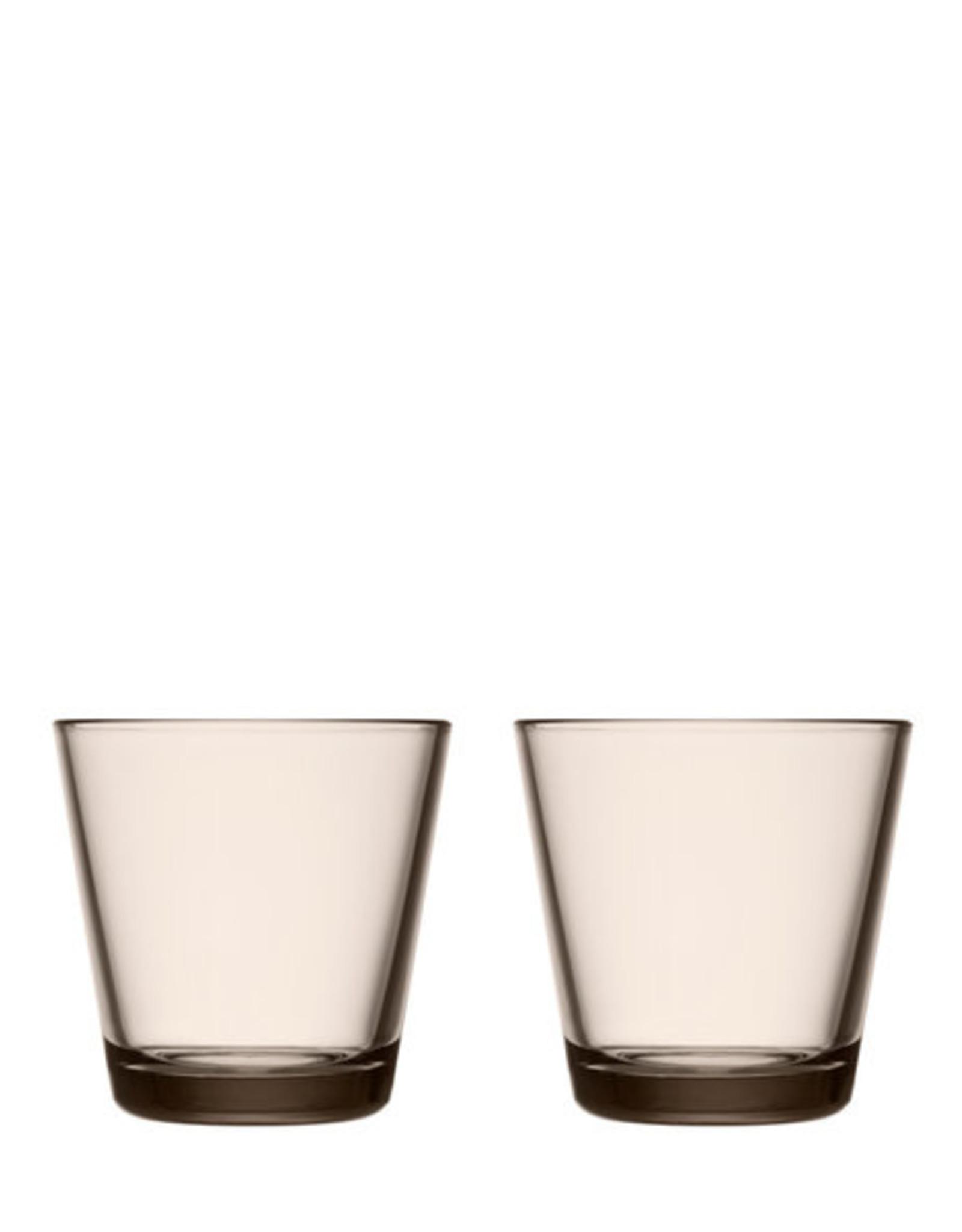 Iittala Iittala Kartio Glas - 21 cl - Linnen - 2 stuks