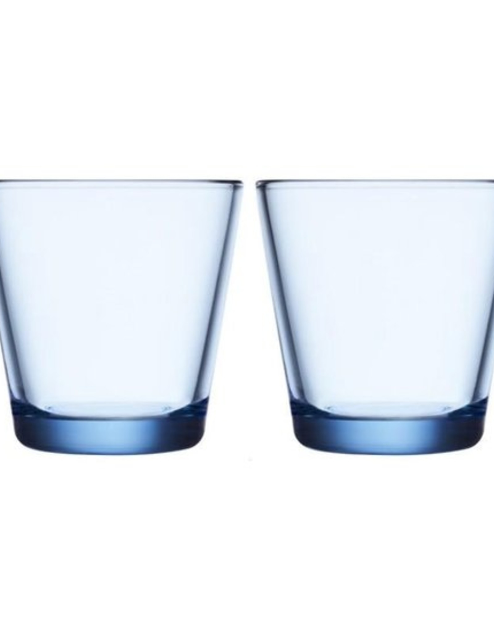 Iittala Iittala Kartio Glas - 21 cl - Aqua - 2 stuks