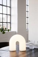 Ferm Living Ferm Living - Vuelta Lamp - Tafellamp - Opaal Glas - LED
