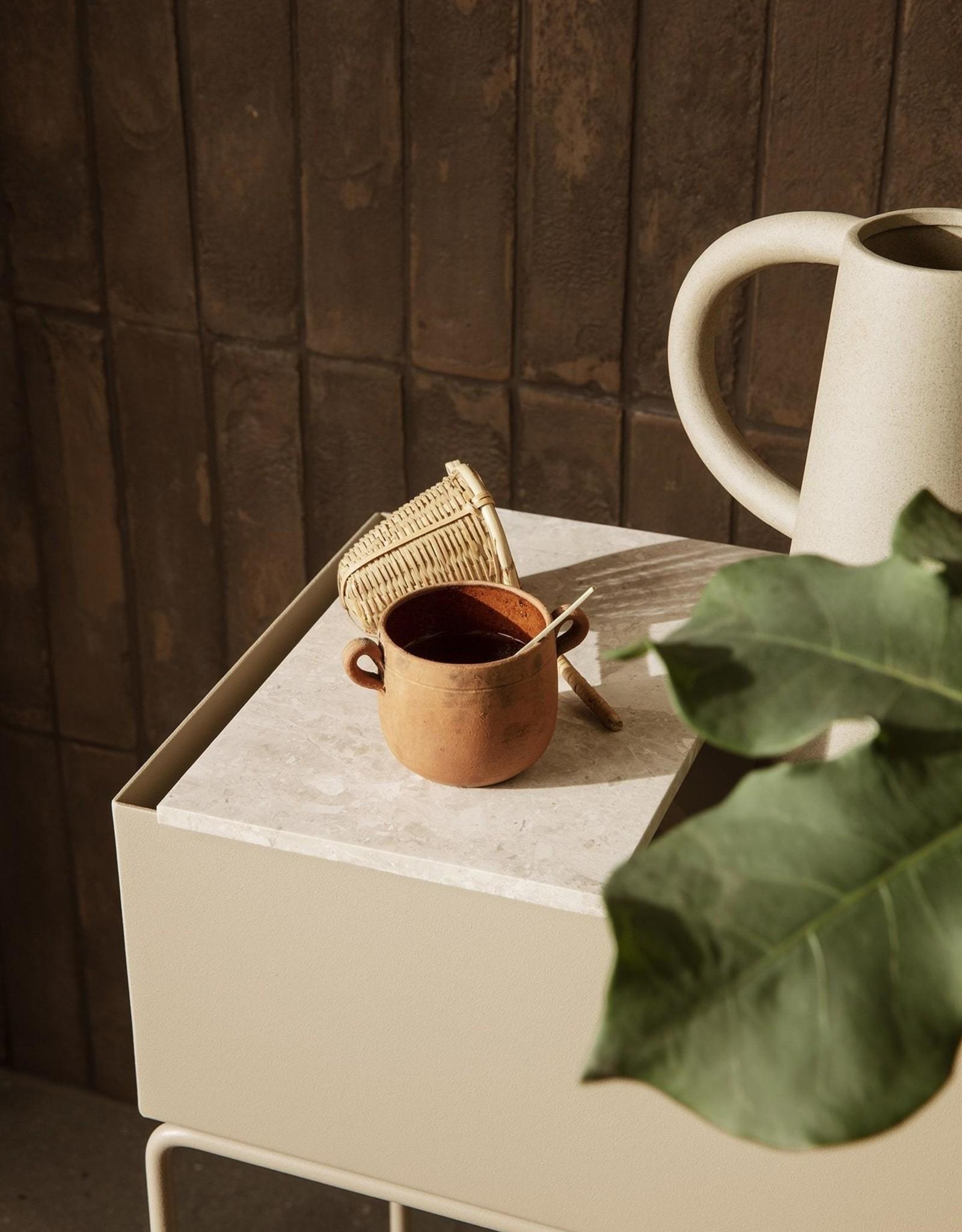 Ferm Living Ferm Living Plantbox Tray Marmer