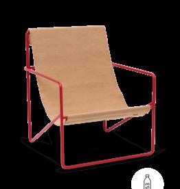 Ferm Living Ferm Living Desert Lounge Chair Rood