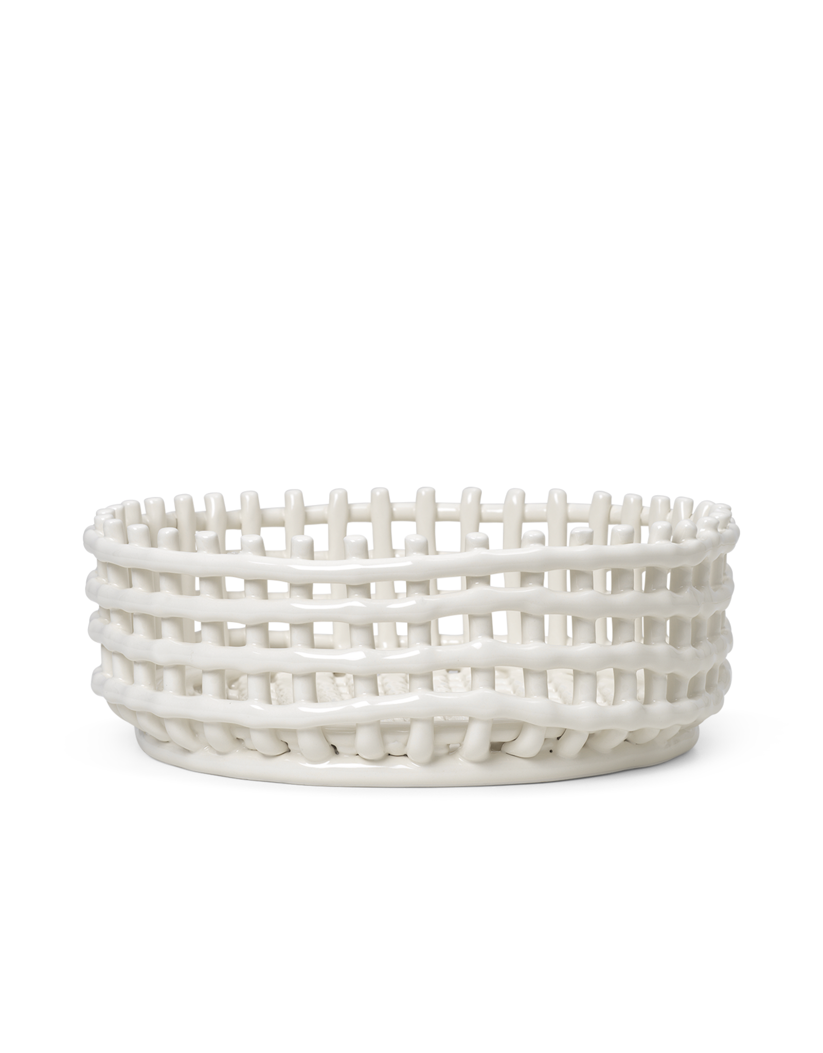 Ferm Living Ferm Living Ceramic Centerpiece Schaal Wit