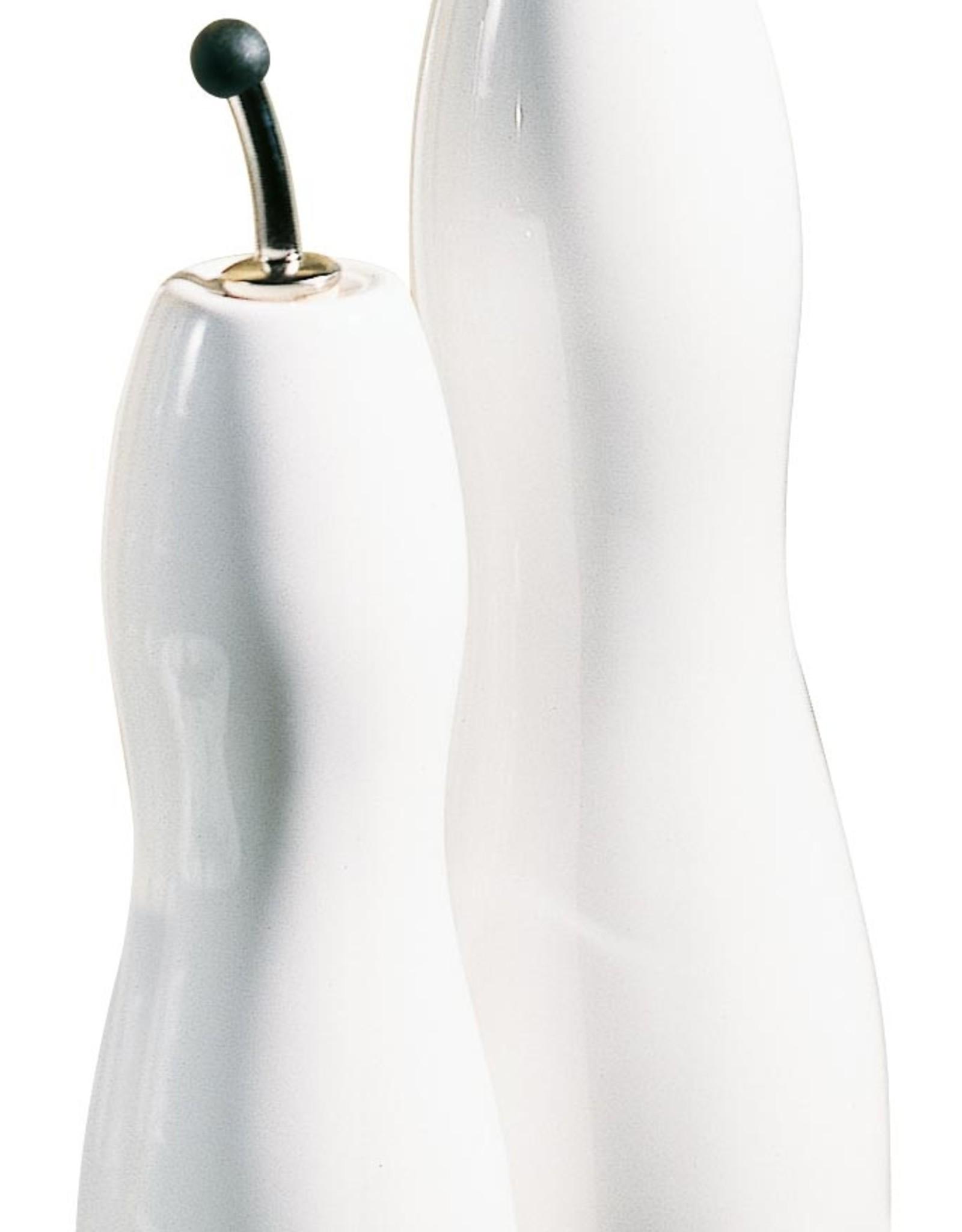 ASA ASA Olie- en Azijnfles Gegolfd Porselein Wit 0.75L