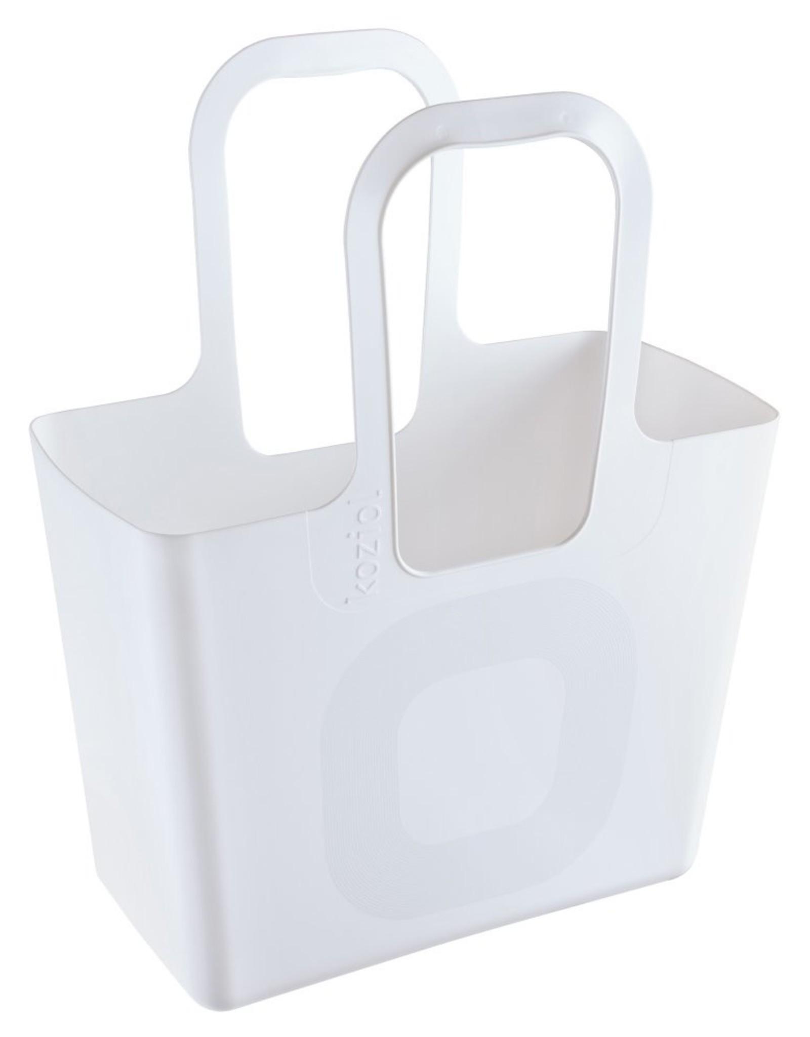 Koziol Koziol Tasche XL Boodschappentas Wit