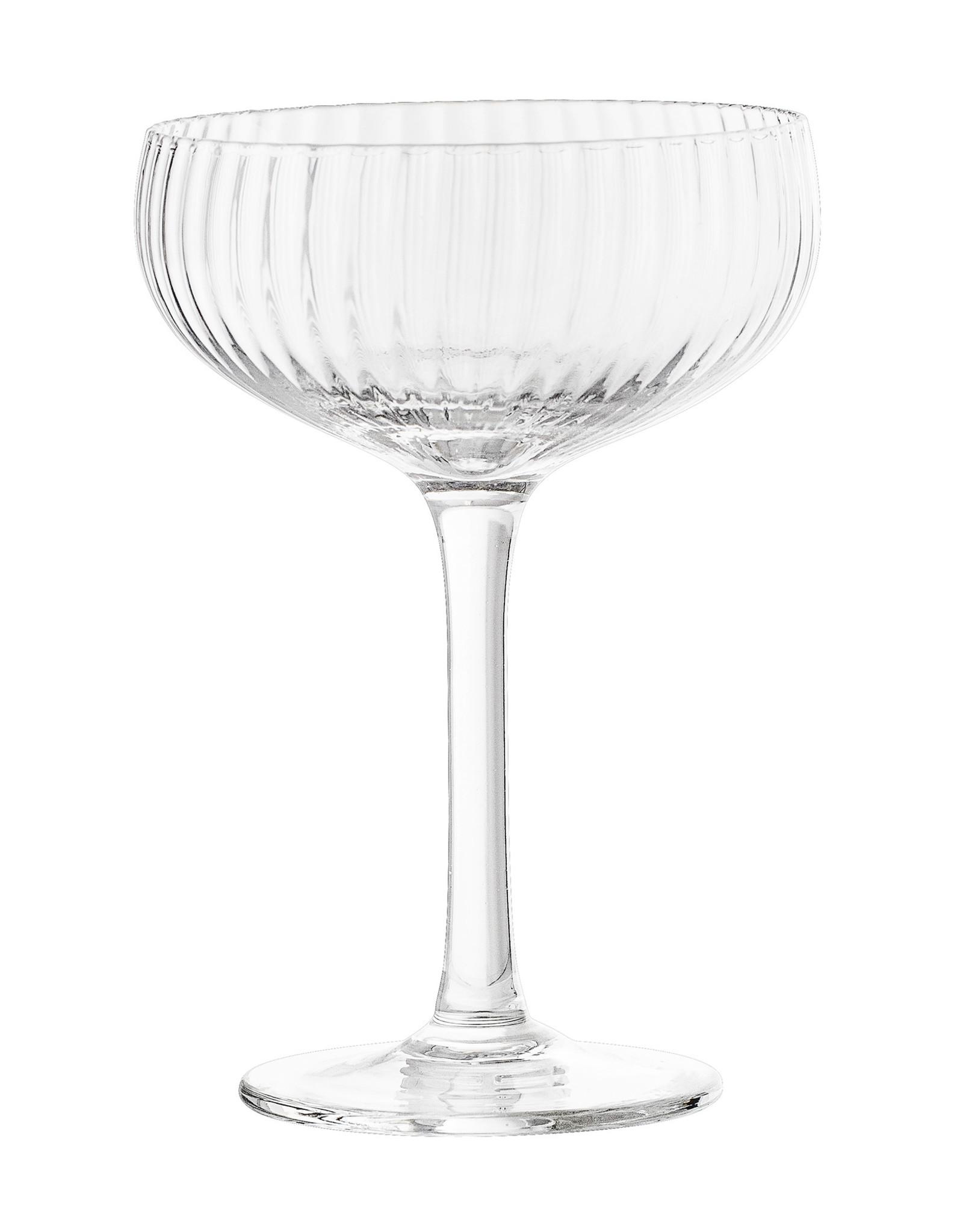 Bloomingville Bloomingville Astrid Champagnecoupe Helder Glas - Set van 6