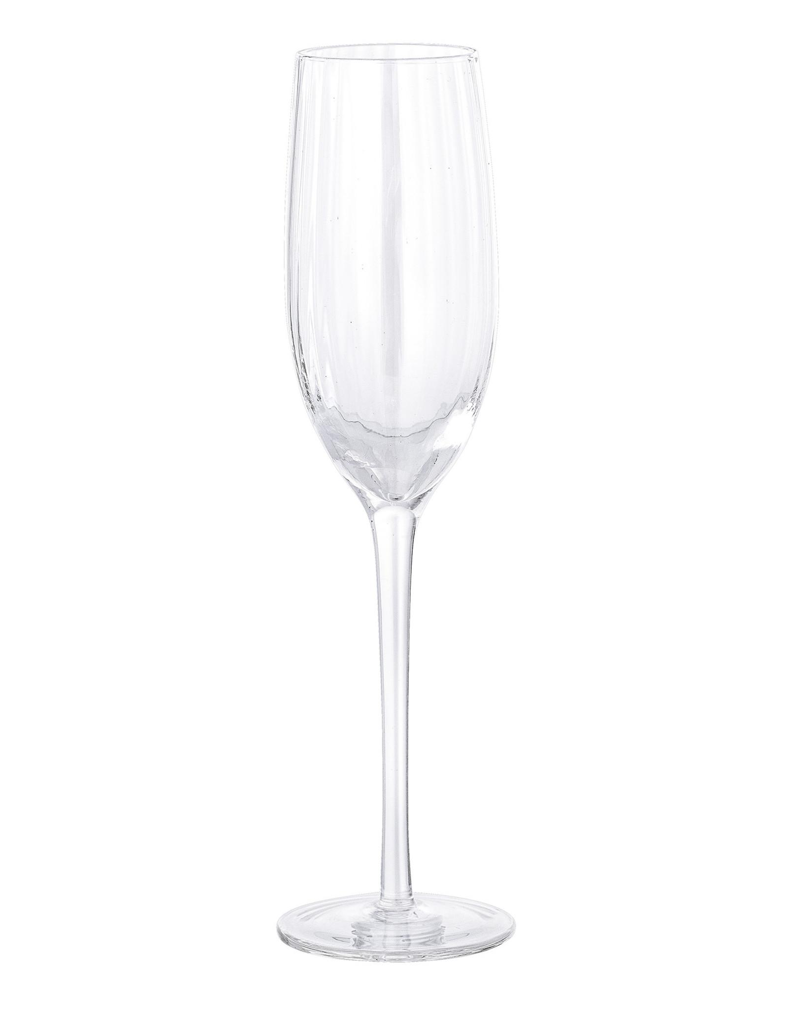 Bloomingville Bloomingville Astrid Champagneglas Helder Glas - Set van 6