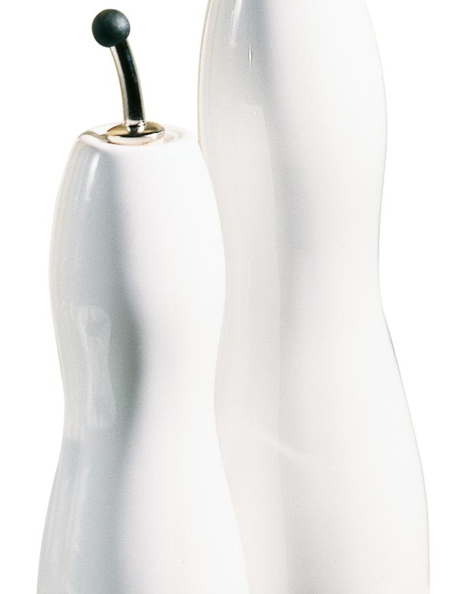 ASA ASA Olie- en Azijnfles Gegolfd Porselein Wit 1.1L