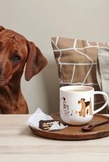 ASA ASA Coppa Katten en Honden Kop Hond Porselein Wit