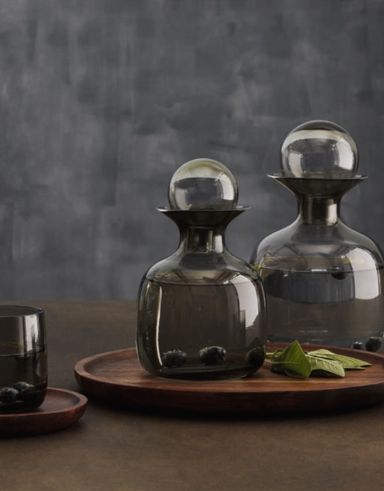 ASA ASA Glas Longdrink Glas Grijs 0,4l