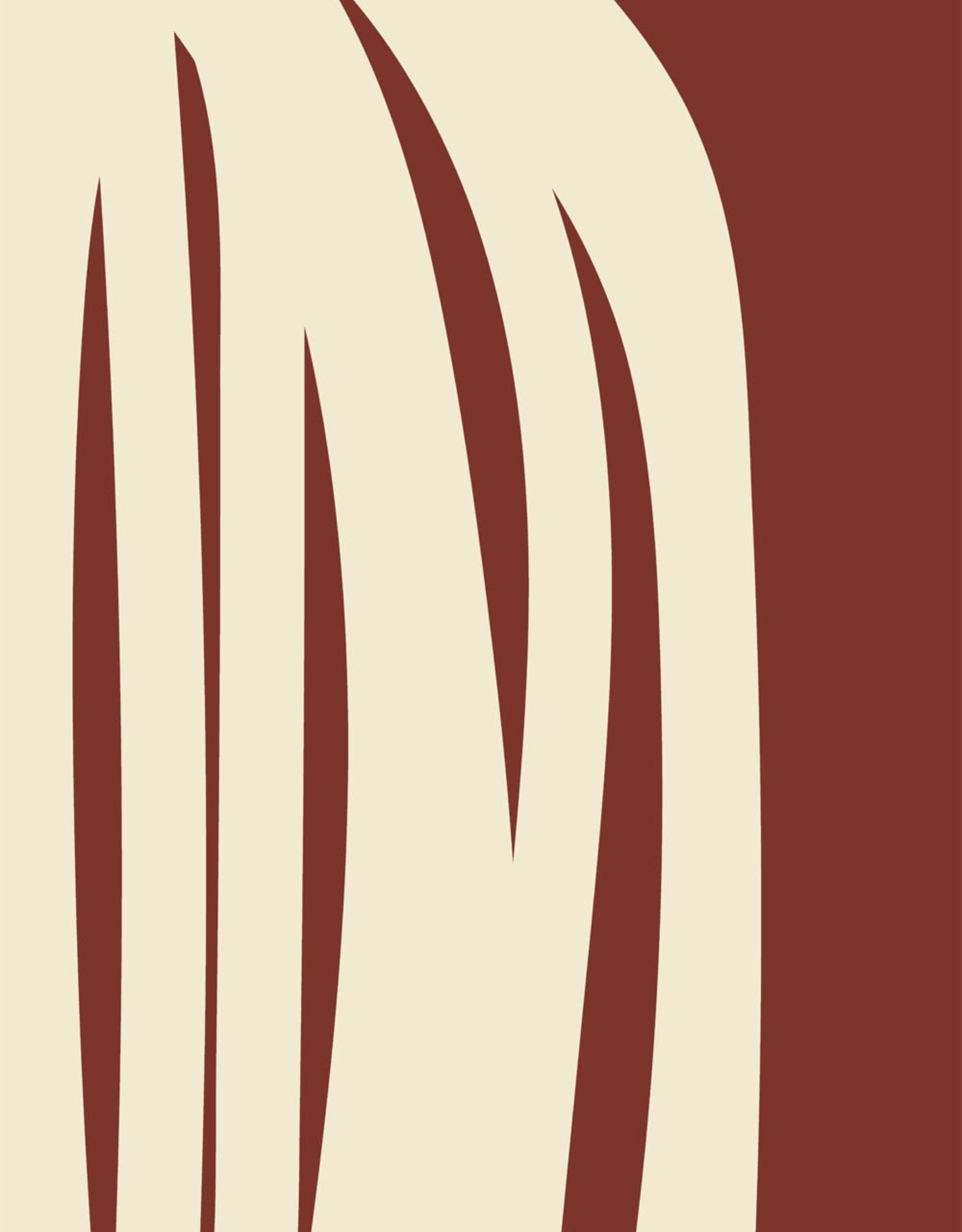 Paper Collective Paper Collective Poster Nina Bruun Stacked Lines 02 50x70cm