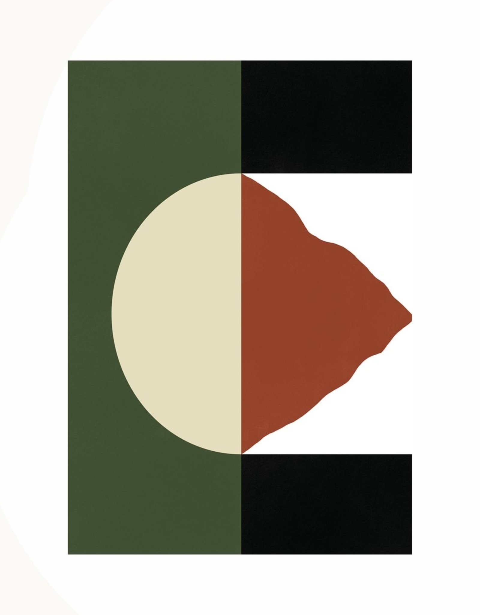 Paper Collective Paper Collective Poster Denis Boudart Mountain 50x70cm