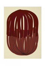 Paper Collective Paper Collective Poster Nina Bruun Stacked Lines 01 50x70
