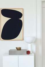 Paper Collective Paper Collective Poster Nina Bruun Solid Shapes 03 30x40cm