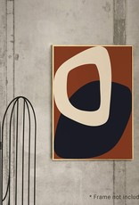 Paper Collective Paper Collective Poster Nina Bruun Solid Shapes 02 30x40cm
