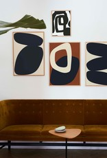 Paper Collective Paper Collective Poster Nina Bruun Solid Shapes 02 50x70cm