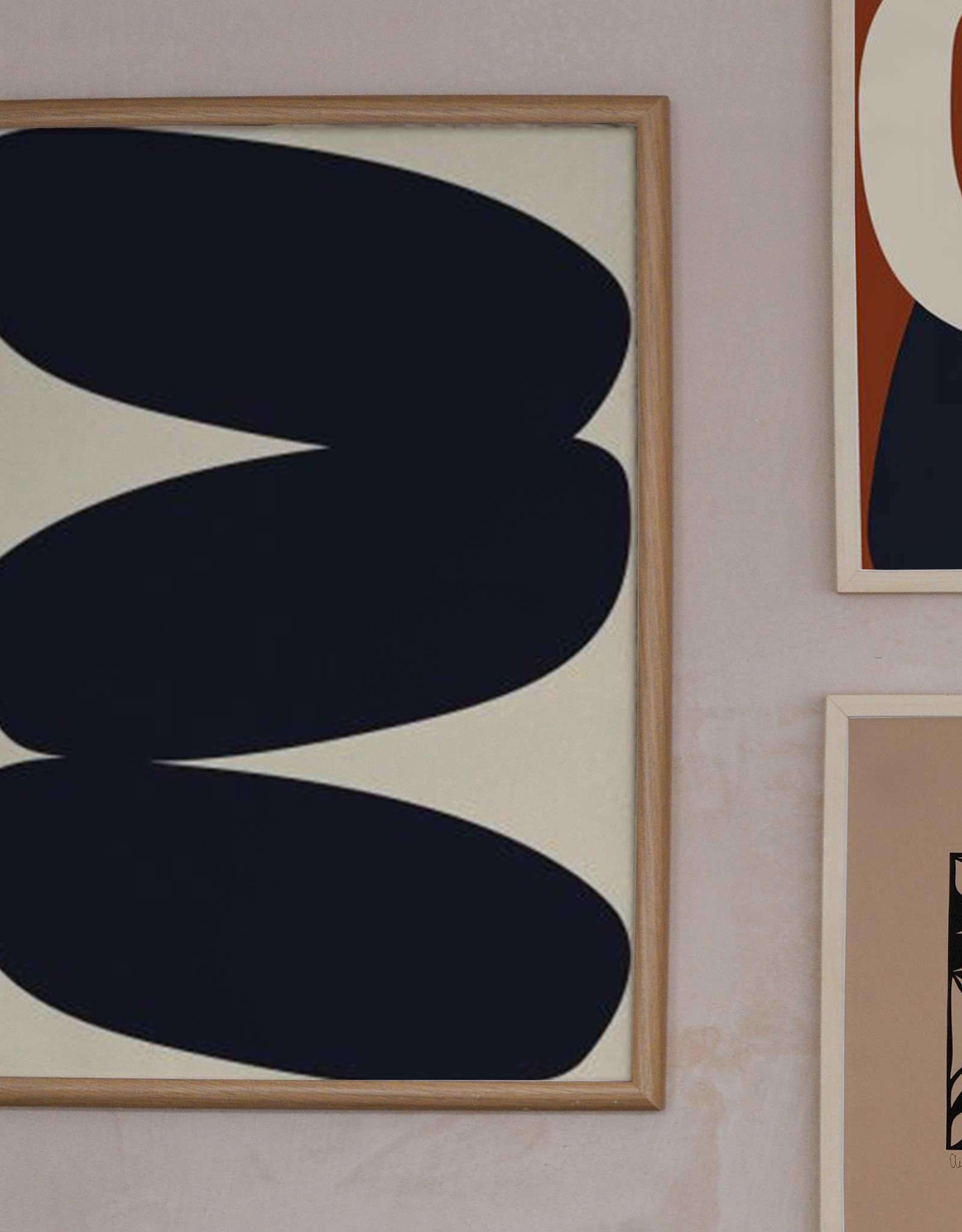 Paper Collective Paper Collective Poster Nina Bruun Solid Shapes 01 50x70cxm