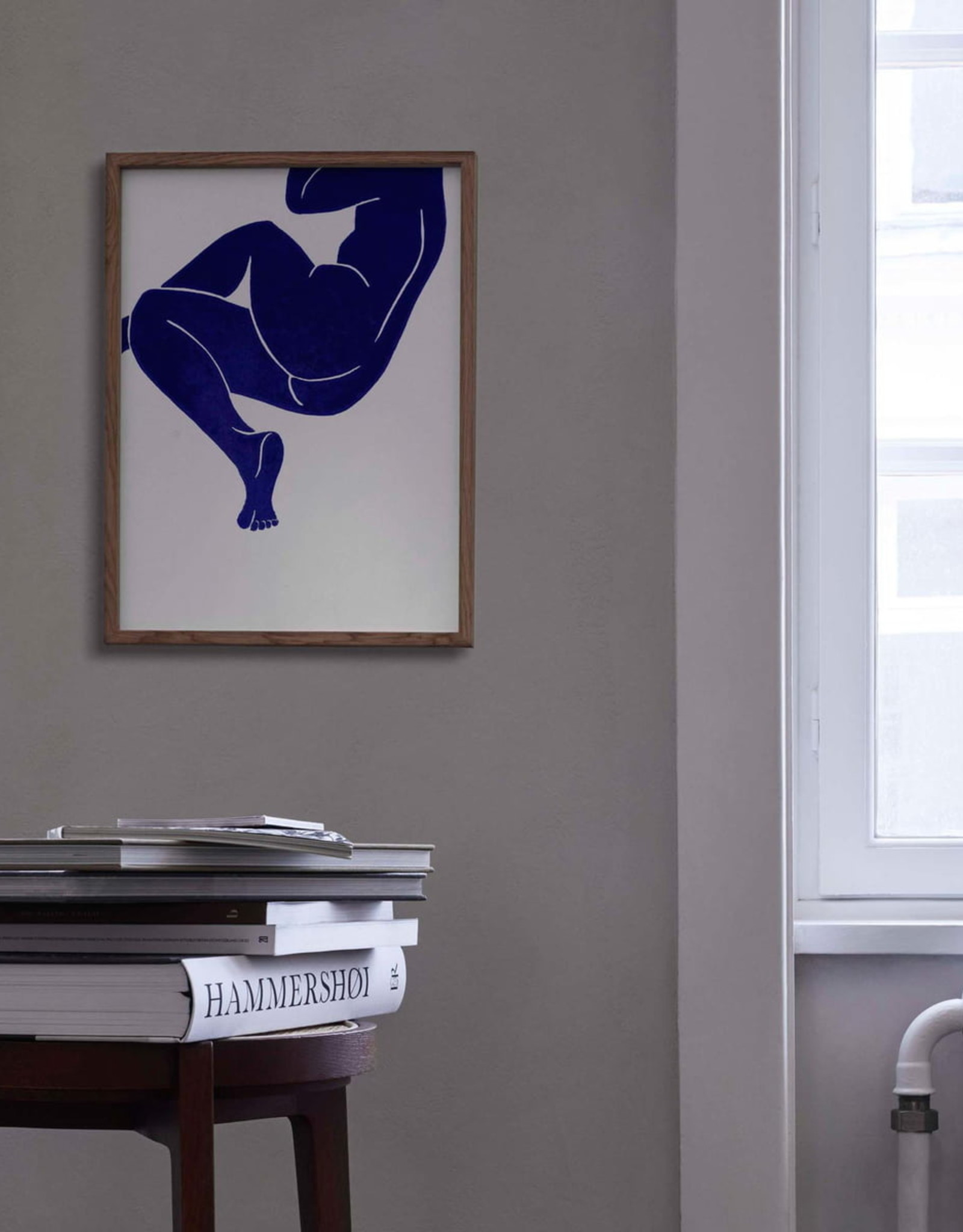 Paper Collective Paper Collective Poster Jazmine Andrew Linocut III 50x70cm