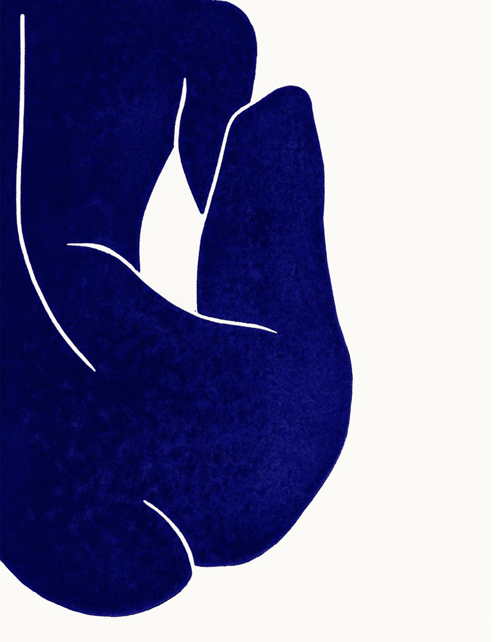 Paper Collective Paper Collective Poster Jazmine Andrew Linocut II 50x70cm