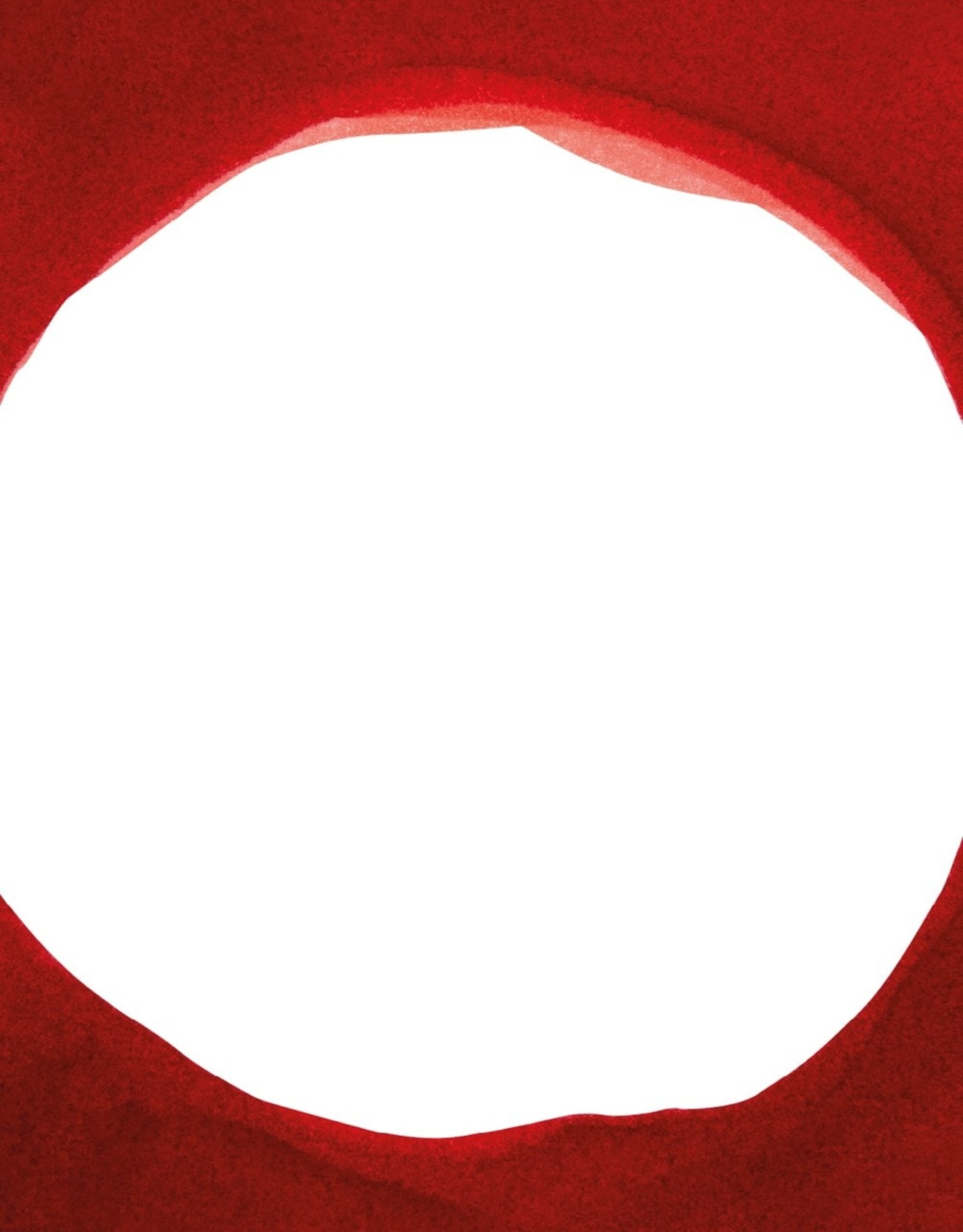 Paper Collective Paper Collective Poster Norm Architects Enso Red III 30x40cm
