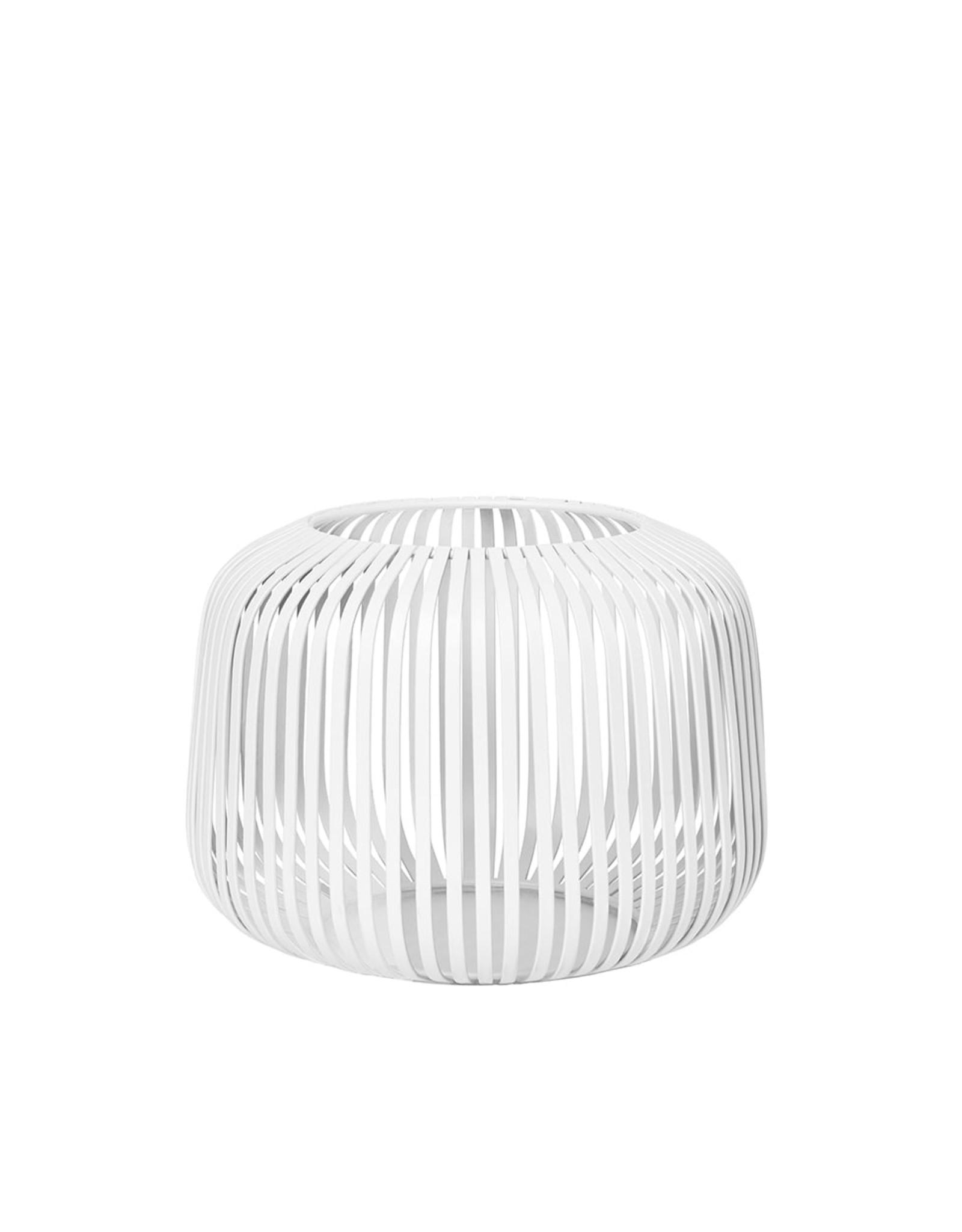 Blomus BLOMUS - LITO windlicht / lantaarn wit staal Ø13,5cm Extra Small