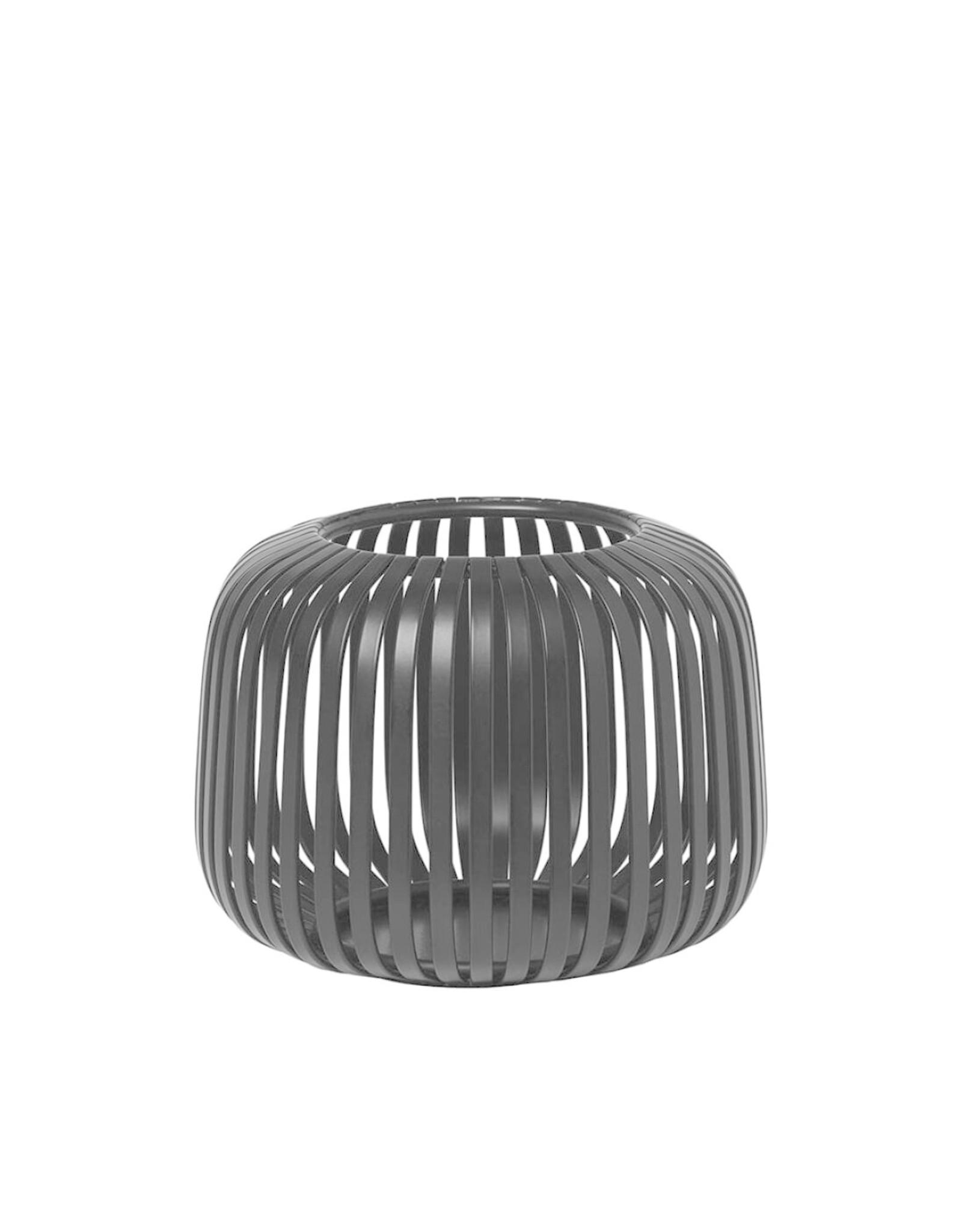 Blomus BLOMUS - LITO windlicht / lantaarn Zwart staal Ø13,5cm Extra Small