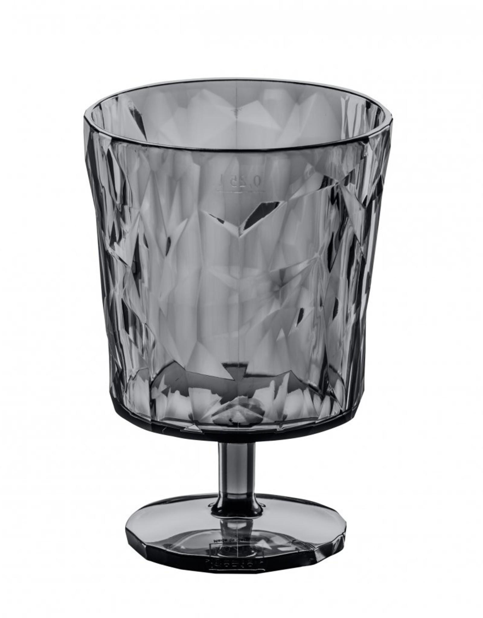 Koziol Koziol CLUB S Drinkglas 250ml transparent grey