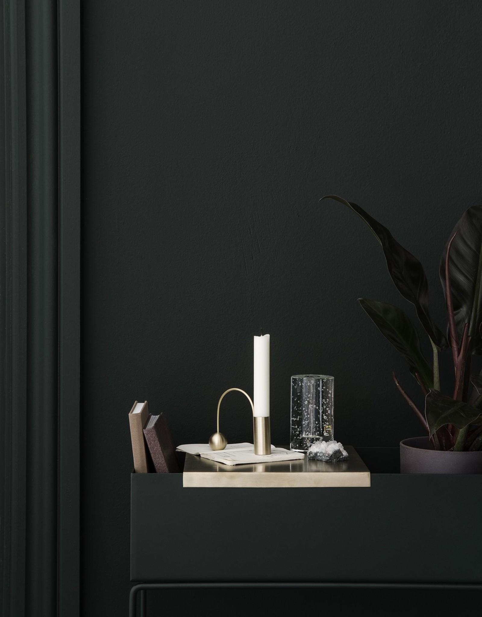 Ferm Living Ferm Living Tray For Plant Box Brass