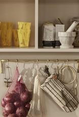 Ferm Living Ferm Living Ovenwand Zand/Zwart Kleur