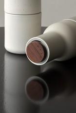 Menu Norm Architecten Peper & zoutmolen met Walnoten afwerking, keramiek