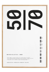 Paper Collective Paper Collective Frames Oak 50x70cm