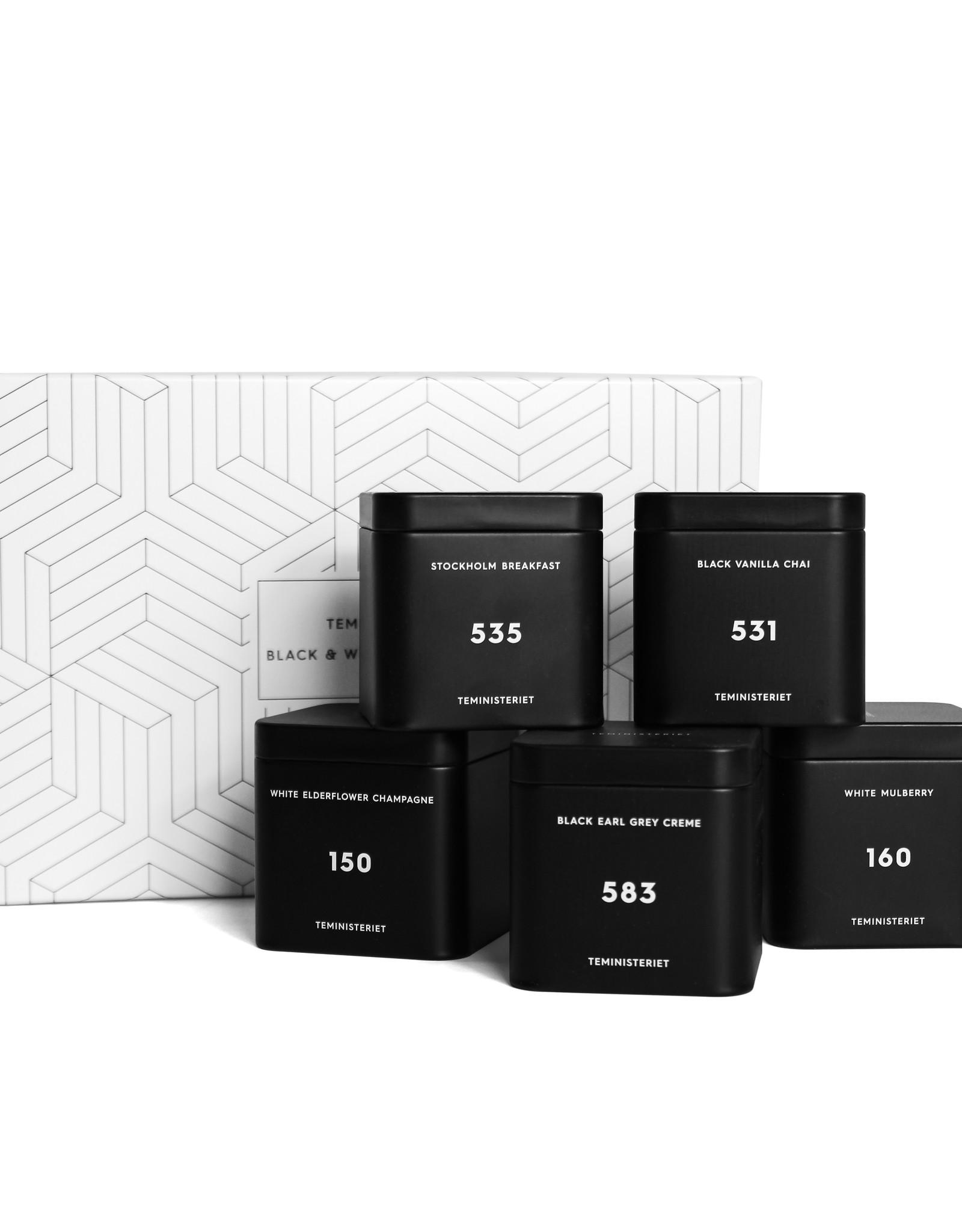 Teministeriet Giftset Black & White Colletie