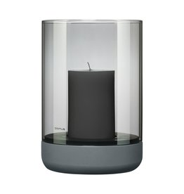 Blomus Blomus Calma Lantaarn L Steel Grey Smoke