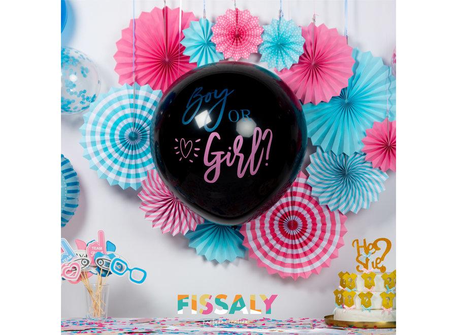 129 Stuks Gender Reveal Baby Shower Ballonnen Decoratie Feestpakket