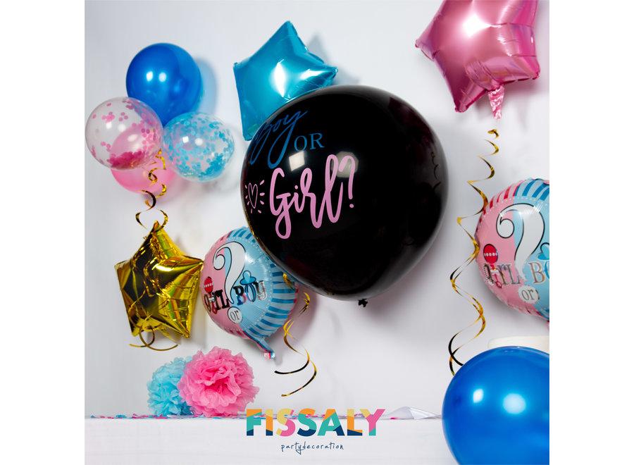 50 Stuks Gender Reveal Baby Shower Ballonnen Decoratie Feestpakket