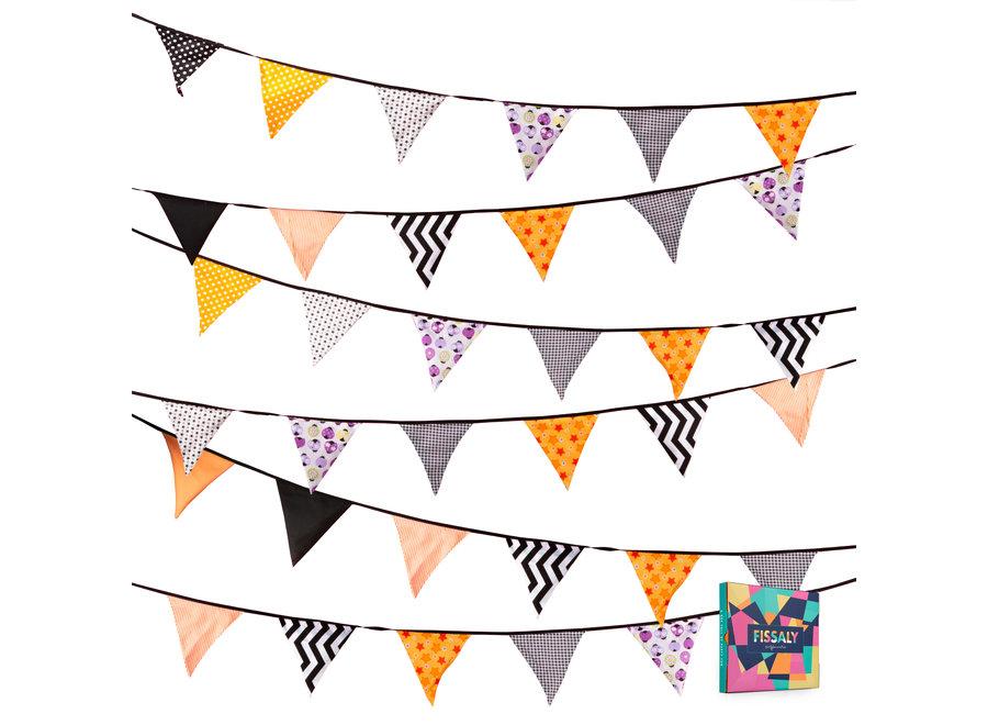 Verjaardag Stoffen Vlaggetjes Slinger – Decoratie – Happy Birthday