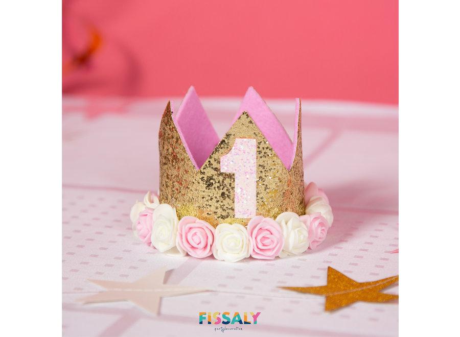 Baby 1 Jaar Verjaardag Versiering Meisje