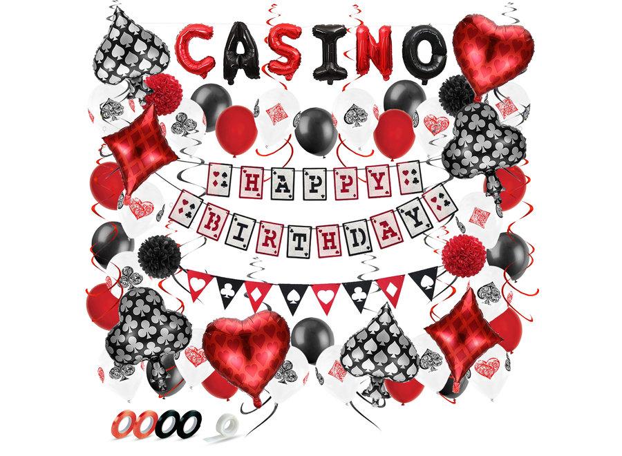 Las Vegas Casino Decoratie set