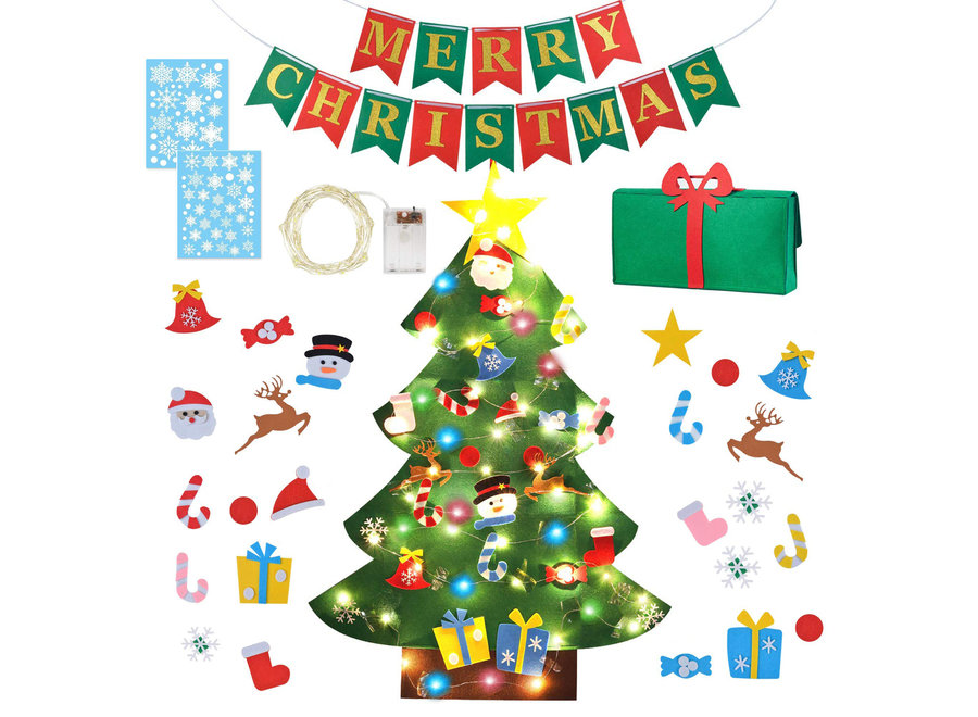 Vilten Kerstboom