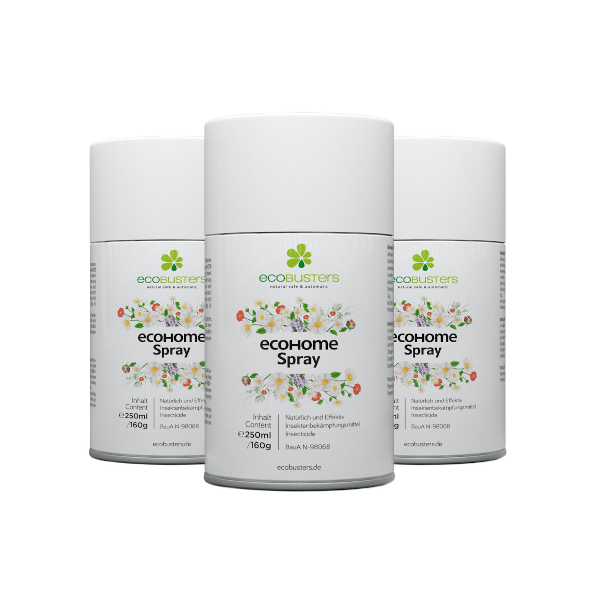 3x EcoHome-Spray